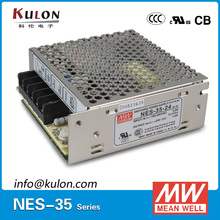 Original Meanwell NES-35-48 power supply single output 35W 48V 0.8A MEAN WELL NES-35