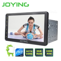 New Product 8 PX5 2 Din Octa Core Head Unit Android GPS Navigation Tape Recorder For