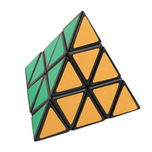 Hot Fashion Pyramid Triangle Speed Cube Block Magic Game Educational Toy Gifts New Sale