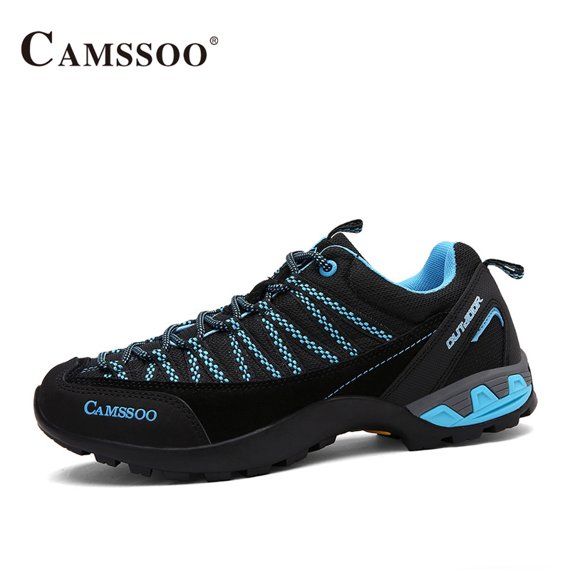 Camssoo Shoes Walking Men Breathable Mesh Outdoor Sport Sneakers Light Male Shoes Size Eu 39-44 AA40359 camssoo new running shoes men soft footwear classic men sneakers sports shoes size eu 39 44 aa40375