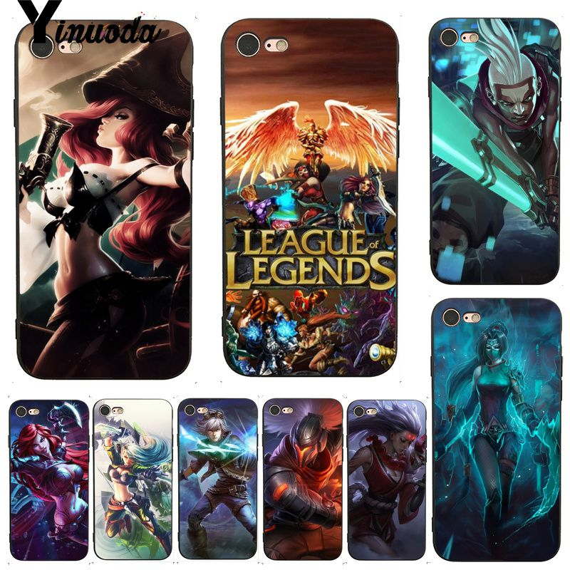 Babaite League of Legends lol Hero Teemo Phone Case cover