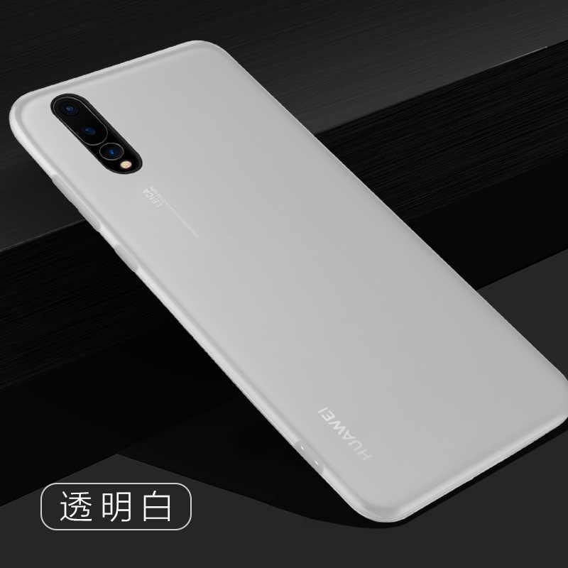 Ультратонкий Мягкий чехол для телефона huawei P20 Lite P30 Pro роскошный силиконовый тонкий черный чехол для huawei P20 Pro P30 Lite