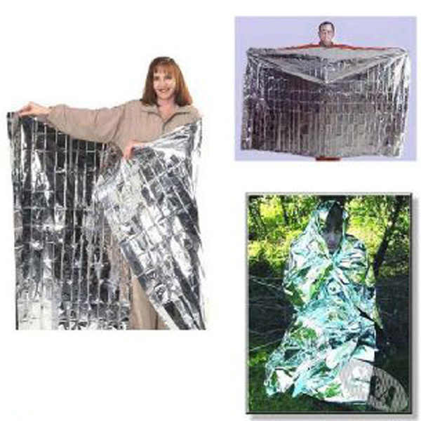 New Survival Emergency Keep Warm Gear Rescue Space Silver Mylar Outdoor Thermal Blanket Wrap