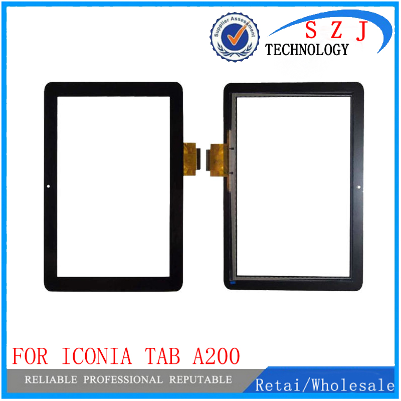 New 10.1  For Acer Iconia Tab A200 Tablet PC Front Outter Touch Screen Panel Digitizer Sensor Glass Repair Replacement Part a new for bq 1045g orion touch screen digitizer panel replacement glass sensor sq pg1033 fpc a1 dj yj313fpc v1 fhx