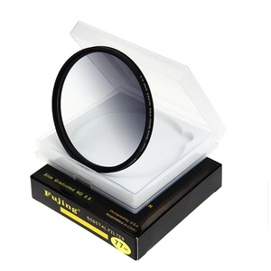 Image 2 - fujing 67mm 72mm 77mm 82mm GND GC GRAY Filter Optical Glass  Graduated Gray Filter for Camera