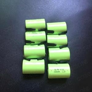 Image 4 - 8pcs 1.2v 2500mah 4/5 Subc Sub C Sc Nimh Rechargeable Batteries Sub C 4/5 1.2v Battery Ni mh Bateria Recargable 4/5sc for 9.6v
