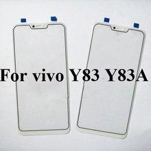 Pcs para vivo Y83 2 Y83A Outer Lente de Vidro para vivo Y 83 Y 83A Touchscreen Tela Externa da tela de Toque tampa de vidro sem flex