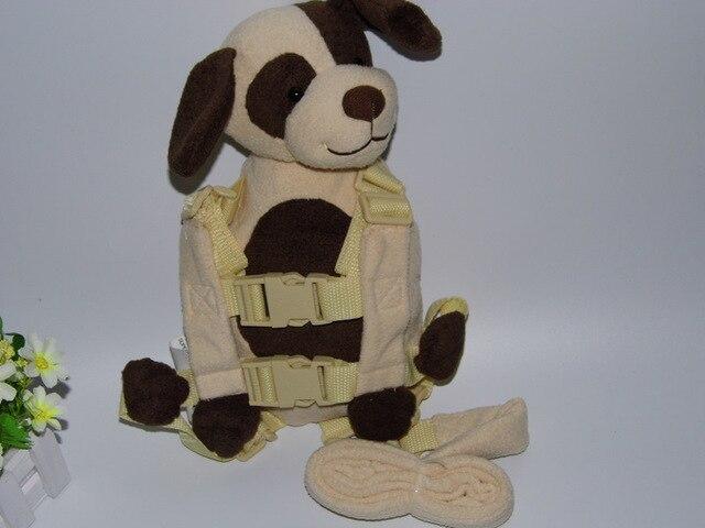 Голдбаг бадди использовать тедди собака 2-in-1 детские рюкзак сейф и защиты прогулки поводья для детей в возрасте от 1 до 3