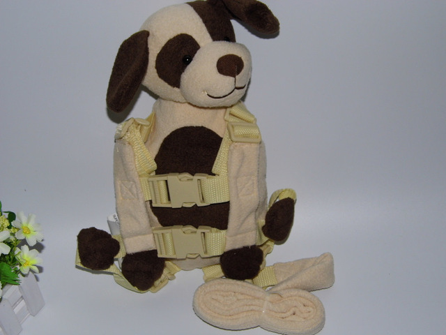 Goldbug Buddy Harness Teddy Dog  2-in-1 Baby Backpack safe and protection Walking Reins for Children Aged from 1 to 3