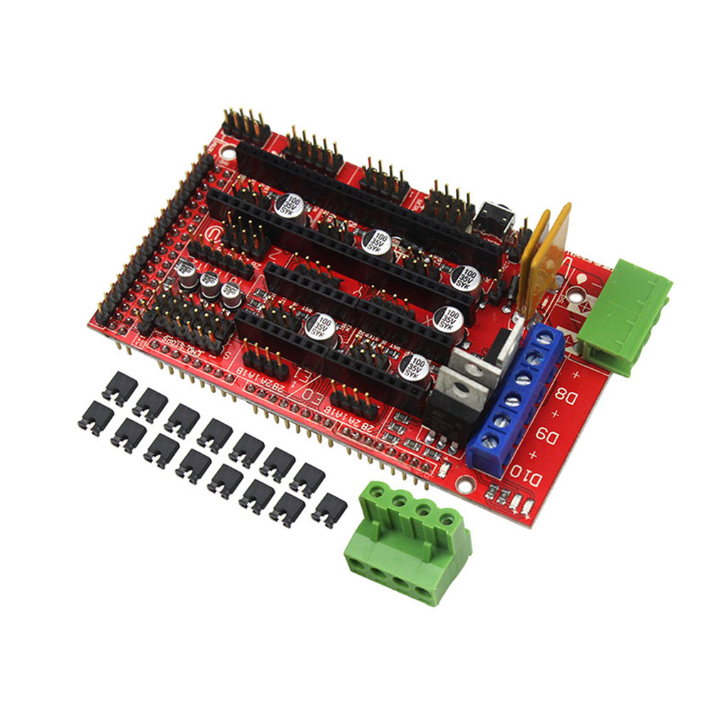 3D Printer Parts Controller Control Board for RAMPS 1.4 Reprap Prusa Mendel XXM8 reprap prusa mendel diy 3d printer robot main control chip atmega1284p au black