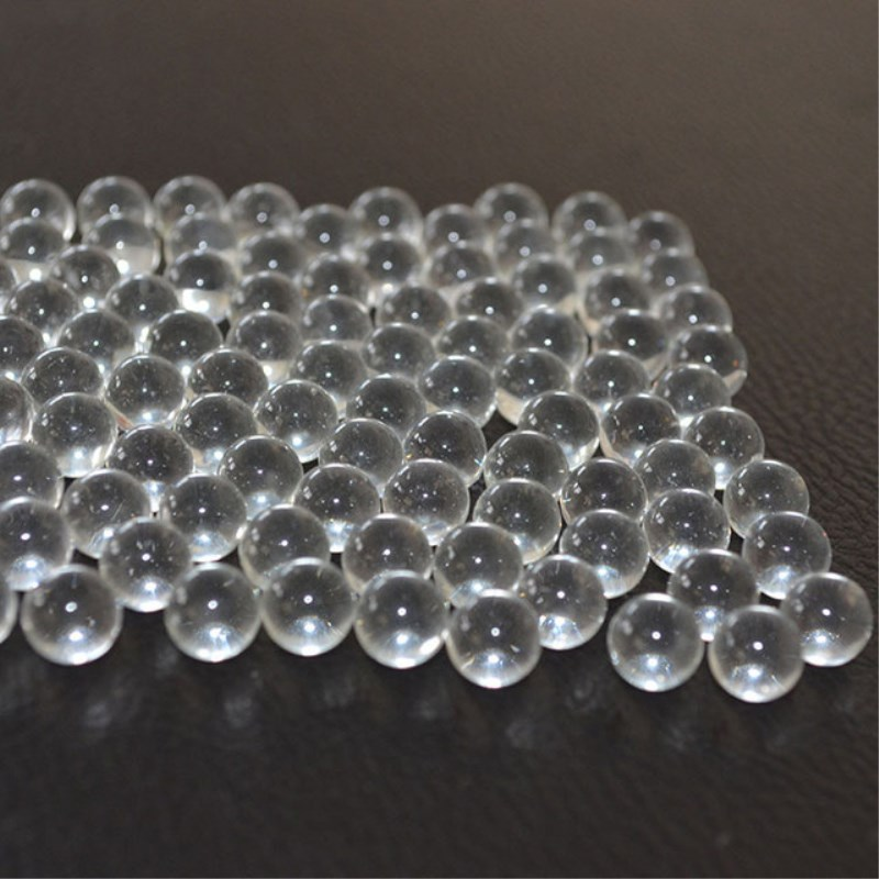 Glass Ball 100pcs 6mm7mm 8mm 9mml Slingshot Hunting Catapult Transparent Solid Marble Gardening Loose Beads Vase Filling