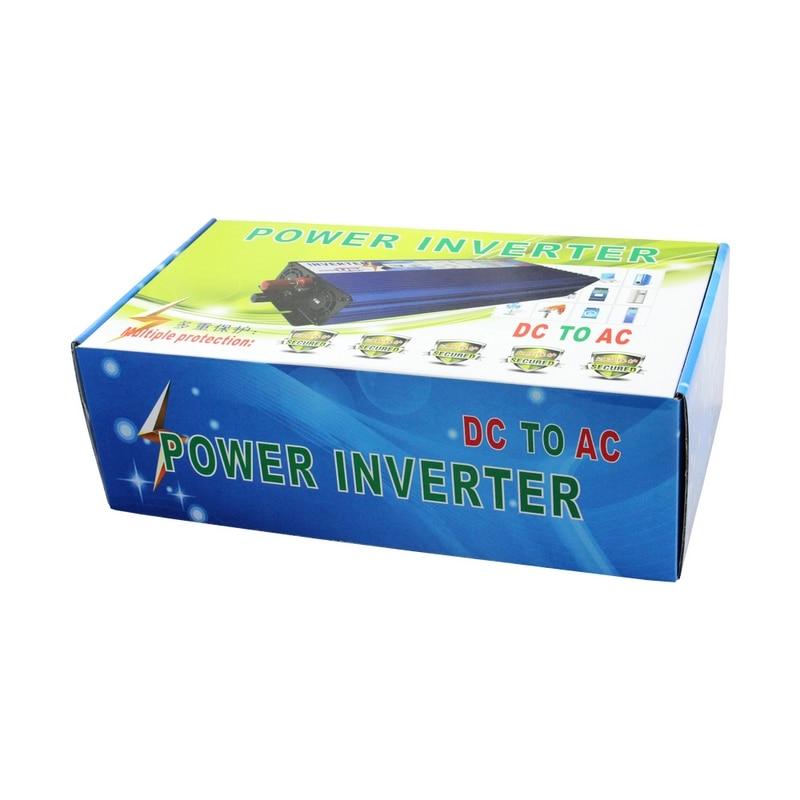 Image 5 - 12V 220V Power Inverter 3000W Car Inverter 12v to 220v Inverter Converter Portable Auto Power Supply USB Charger-in Car Inverters from Automobiles & Motorcycles