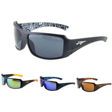 New deportes al aire libre gafas de sol de los hombres/de las mujeres del diseño de marca de plástico unisex gafas de sol de espejo oculos gafas de sol gafas de sol feminino