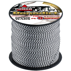 Image 4 - New 8 strand black color never fade braided fishing spot line 100m 300m super pe 6 150LB strong fastness wire sea fishing tackle