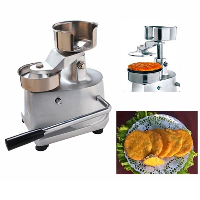Meat pie maker hand press hamburger patty making forming machine high quality household manual hand dumpling maker mini press dough jiaozi momo making machine