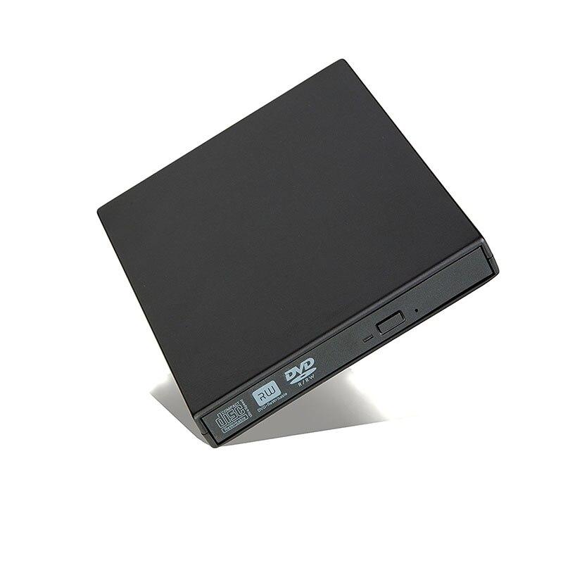 DVD esterno USB Drive Ottico 2.0 Lettore DVD-ROM CD/DVD-RW Burner Scrittore Lettore Registratore Portatil per Windows Mobile PC