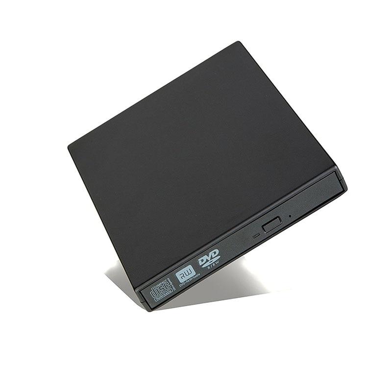 Externe DVD Optisches Laufwerk USB 2.0 DVD-ROM Player CD/DVD-RW Brenner Schriftsteller Recorder Portatil für Windows Mobile PC