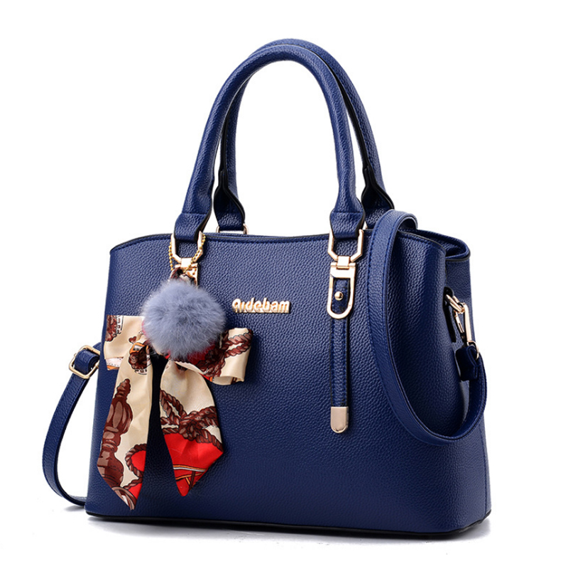 Homeda Brand Bag For Women Fashion Leather Shoulder Bags Female Casual Solid Color High Capacity Tote Lady Fashion Zipper Bags canvas casual tote bag women solid zipper large capacity shoulder bags brand female lady handbags