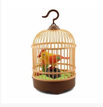 simulacao de musica eletrica pequena gaiola aves crianca voz simulacao passaro bebe saber o som brinquedos