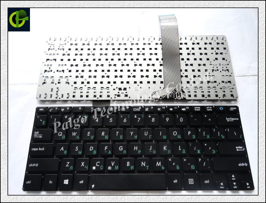 Russian Keyboard for ASUS VivoBook S300 S300C S300SC S300CA S300K S300KI RU Black laptop keyboard russian keyboard for gateway ne56 ne56r ne51b p5ws6 ne71b nv59a nv59c nv79c ru black