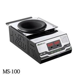 MS-100 бессвинцовый титановый сплав, паяльник, цифровой дисплей, 500 Вт, плавление олова, 2 кг, температура, регулируемая, плавильная Оловянная пе...