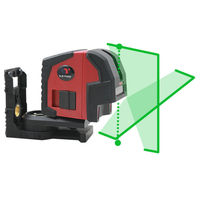 New Leter L2P2G Self Leveling Cross Line and Plumb Spots Green Laser Level