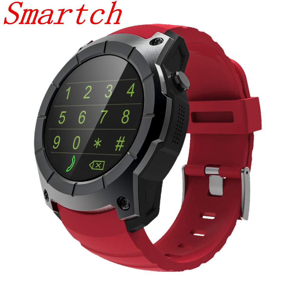 Smartch 2017 New S958 Men's Bluetooth Smart Watch Support GPS,Air Pressure,Heart Rate,Sport Watch Drop shipping For Android IOS no 1 d5 bluetooth smart watch phone android 4 4 smartwatch waterproof heart rate mtk6572 1 3 inch gps 4g 512m wristwatch for ios
