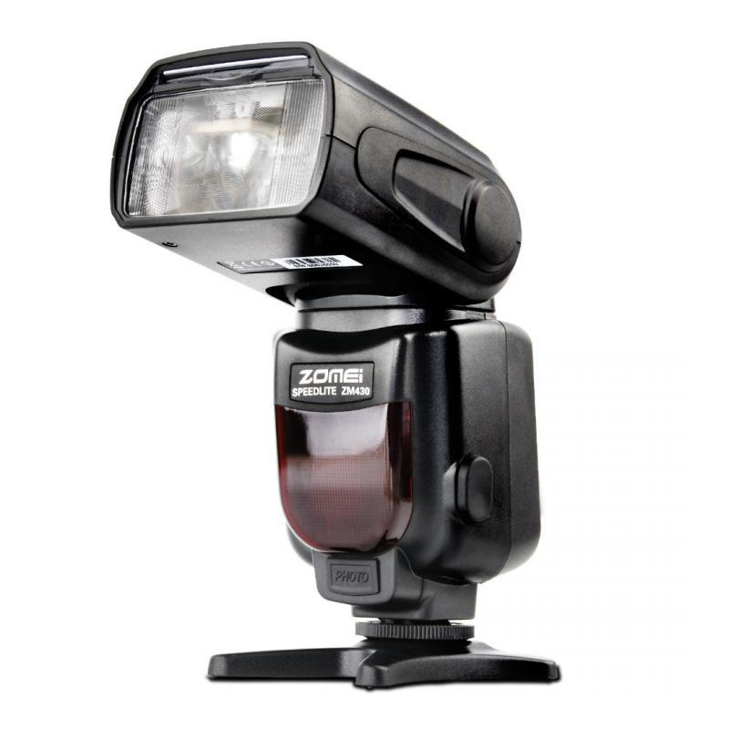 ФОТО Zomei Flash 430 for Camera Manual Flash Trigger Speedlite Flash For Canon Nikon