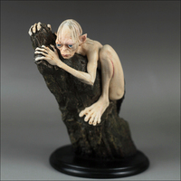 Dropshipping Lotr 15cm Gollum Action Figure 2 Colors Resin GOLLUM with Base Collectible Model Desk Home Decoration Cosplay Gift