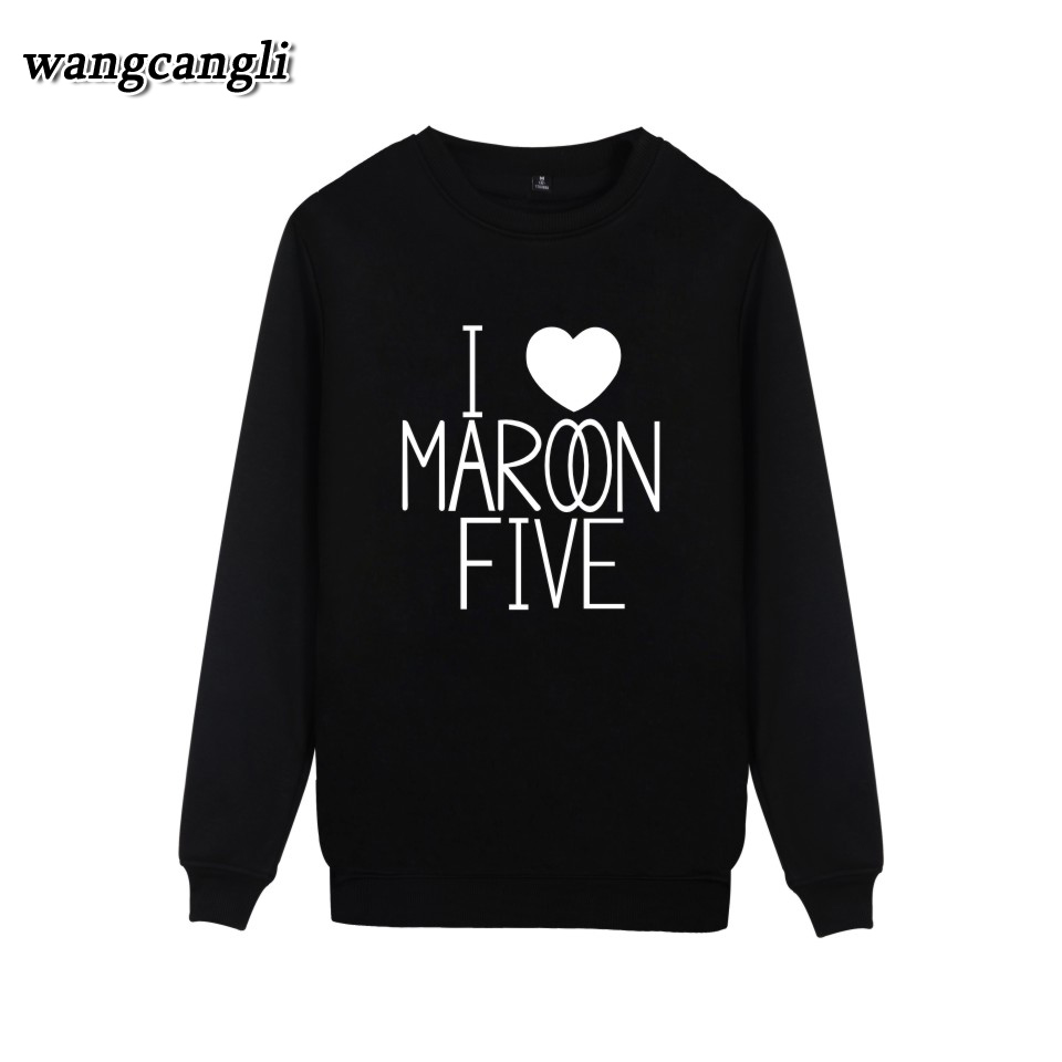 Maroon 5 Rock Band Printed Casual Cartoon Hoodies Men Capless Autumn Hoodies Men Sweatshirt Hip Hop Plus Size 4XL wangcangli