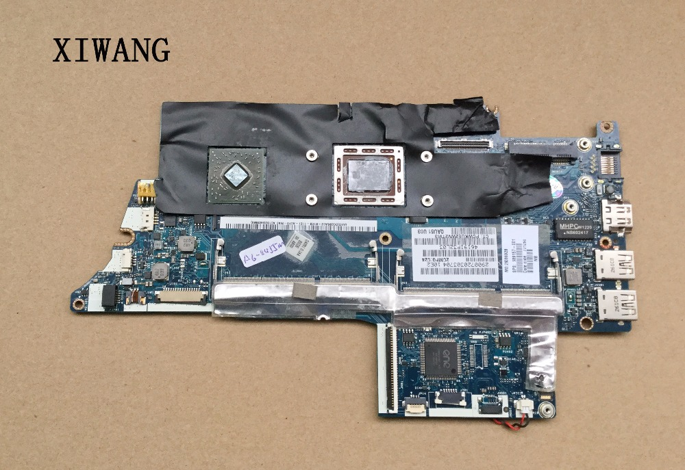 Free Shipping for ENVY6 Laptop motherboard ENVY 6-1000 motherboard for HP 689157-001 689157-501 mainboard A6-4455M working well