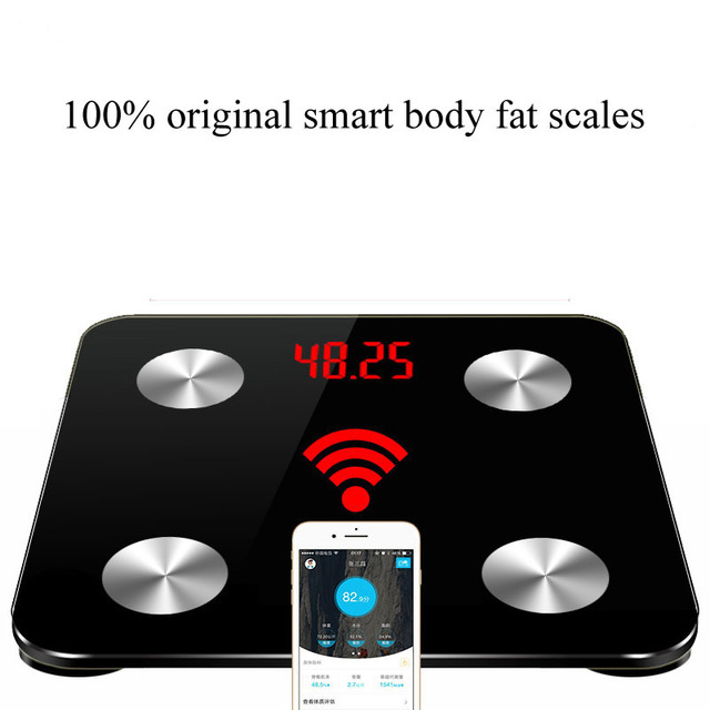Hot 25 body data Household Smart Scales bathroom Weighing Floor Scales Electronic Digital Body Fat Weight Mi Scales PK Yunmai