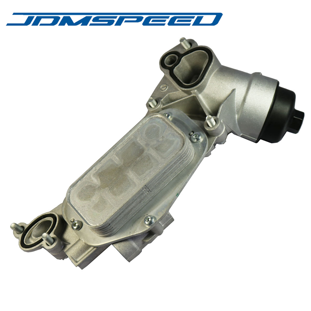 JDMSPEED New Engine Oil Cooler With Oil Filter Assembly 93186324 Fit For GM Chevrolet Cruze Aveo