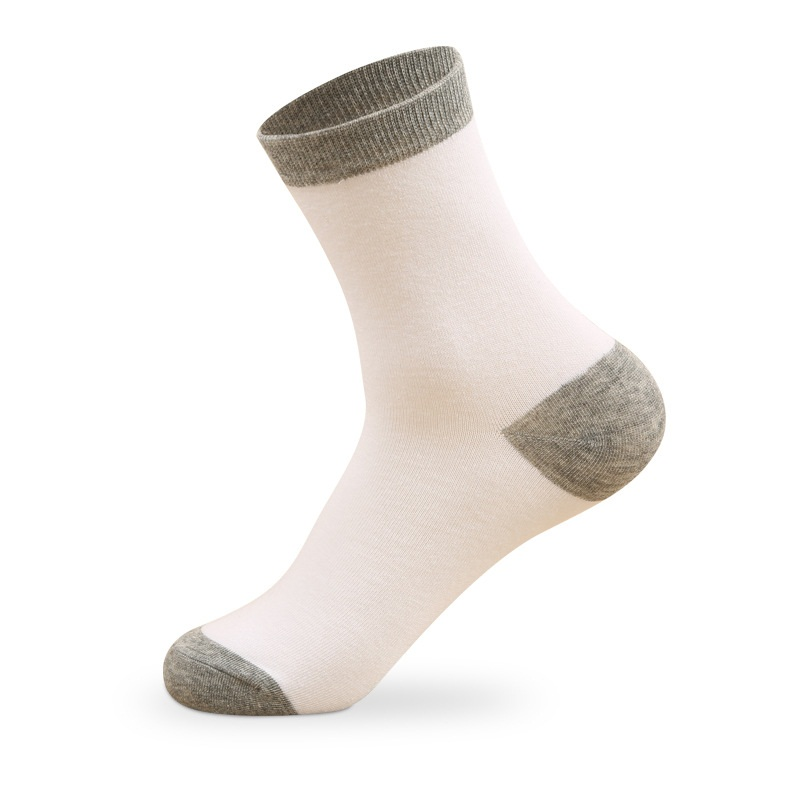 5pairs/lot Casual Men Socks Autumn Spring Breathable Cotton Socks Classic Business Dress Socks man high quality sox