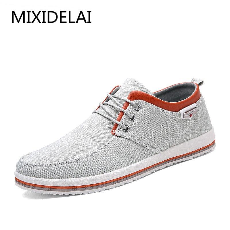 2019 Nouveau Hommes Chaussures de grande taille de 39-47 Hommes Appartements, qualité supérieure chaussures hommes décontractées grande taille mocassins artisanaux Chaussures pour Hommes