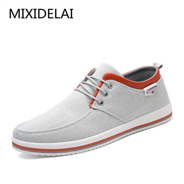 2019 neue männer Schuhe Plus Größe 39-47 Männer der Wohnungen, hohe Qualität Casual Männer Schuhe Große Größe Handmade Mokassins Schuhe für Männliche