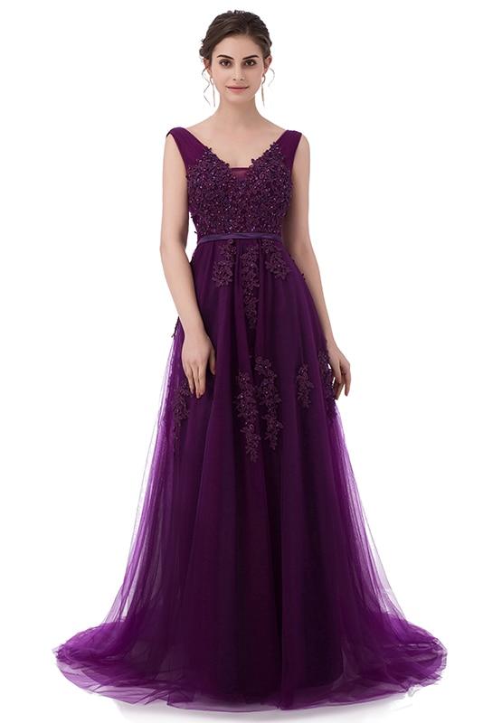 7f02611ffa2 Fashion Lace Long  Evening  Dress  Bride  Sexy  Sleeveless  Party ...