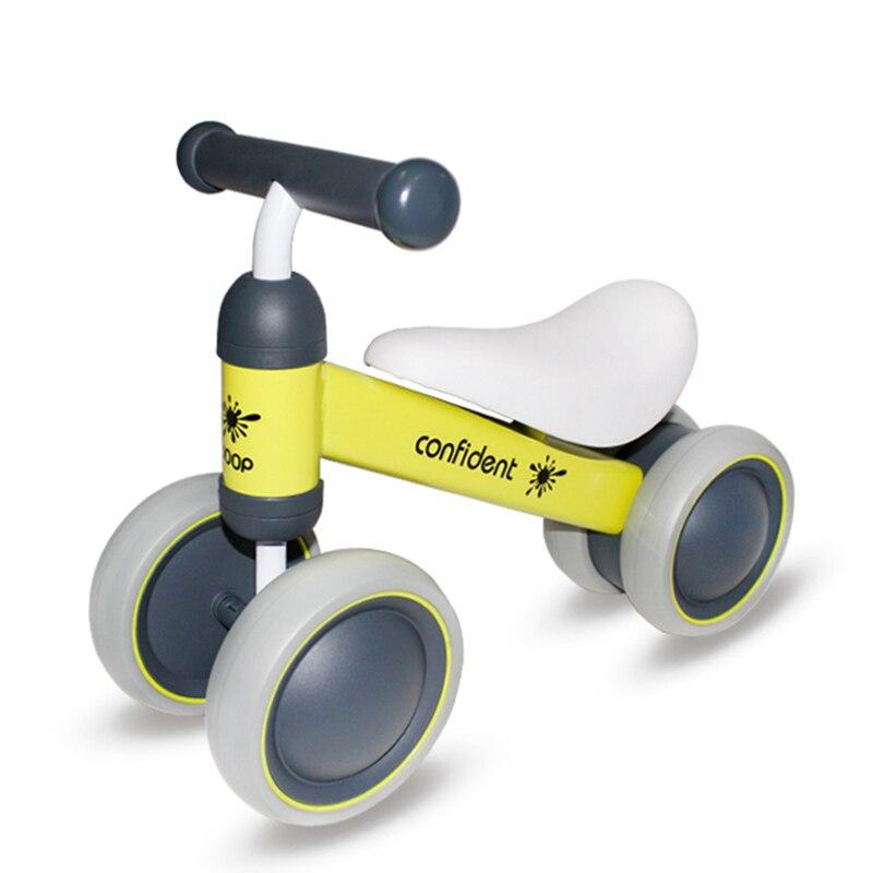 Детский велосипед детский баланс езды на велосипеде игрушки для детей четыре колеса детский велосипед Kick Scooter Bike Extra долл. 2 usd купон - 5