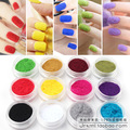 Free shipping one box Velvet used with gel nail polish Powder For Nail Art decorations nail sticker Nail Gel tools M841
