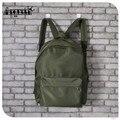 Aequeen nylon impermeável mochilas mulheres mochila sólida sacos de viagem pequena mochila faculdade mochila mochilas escolares daypacks