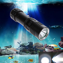 5000LM XM-L2 LED Scuba Diving Flashlight Ajustable Light Torch Underwater 100m Waterproof  Diving Torch 18650/26650 Battery