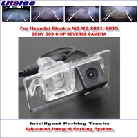 Liislee Car Rear Back Up Camera For Hyundai Elantra MD UD 2011~2015 Rearview Parking 580 TV Lines Dynamic Guidance Tragectory