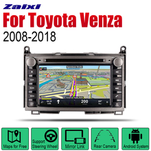 ZaiXi Android 2 Din Auto Radio DVD For Toyota Venza 2008~2018 Car Multimedia Player GPS Navigation System Radio Stereo 2 din car multimedia player android auto radio for mini one cooper s hatch 2018 2019 dvd gps car radio stereo gps navigation