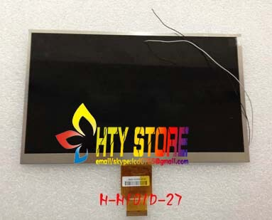 Original 10.1inch LCD screen for H-H101D-27C HD tablet lcd calendar H-H10118FPC-C1 free shipping