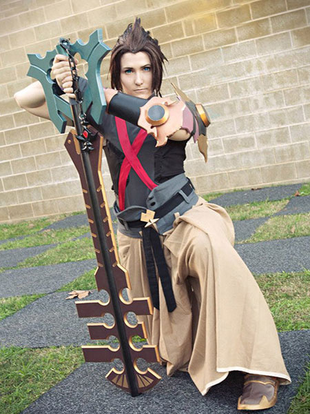 Kingdom Hearts Terra Halloween Cosplay Costume Halloween In Game