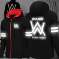 Alan Walker with anti DJ thin hoodies luminous faded clothes for men and women students Long sleeve hoodie man sudaderas hombre