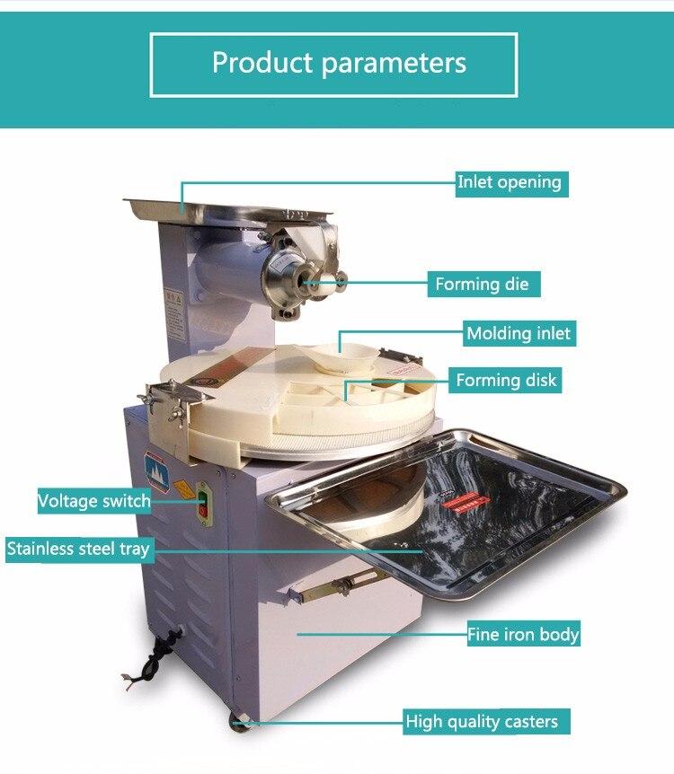 цена Automatic Steamed Bun Making Machine Commercial Disc Forming Machine Steamed Momo Circle Segmentation онлайн в 2017 году