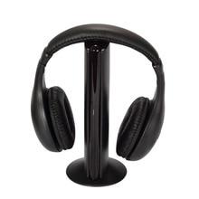 Multifuncional Auriculares Inalámbricos para TV HDTV PC del MP3 MP4 CD DVD VCD/FM Radio CX88