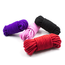 5M Sex Cotton BDSM Bondage Set Restraint Rope Slave Roleplay Toys For Couples Adult Games Products Shibari Hogtie Fetish Harnes