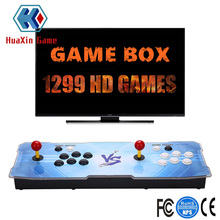 Arcade Video Game Console 1299 Retro Juegos Game Box 5s Plus Arcade Machine Doble Arcade Joystick Altavoz incorporado